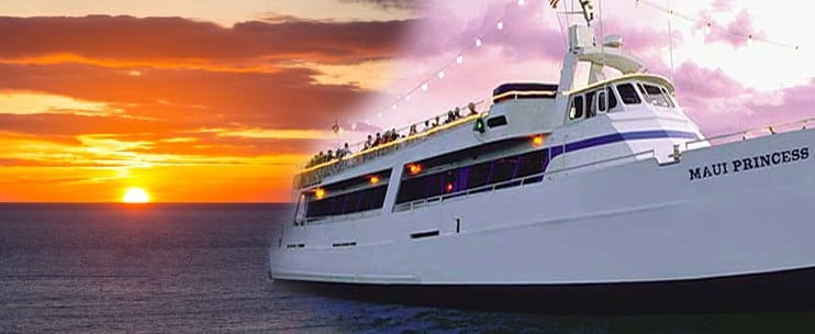 Sailing and Partying with Maui Princess Sunset Dinner Cruise