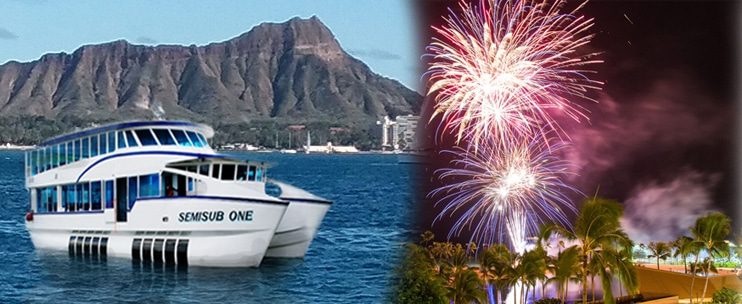 Semisub: Friday Fireworks Sail with Gourmet Dinner (Prepared by Chef Chai)
