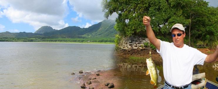 Koloa Bass Freshwater Fishing Tour