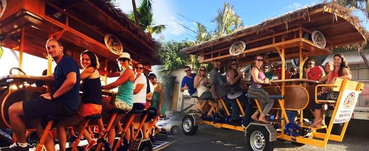 Paradise Pedals Hawaii: Kakaako Bar Tour