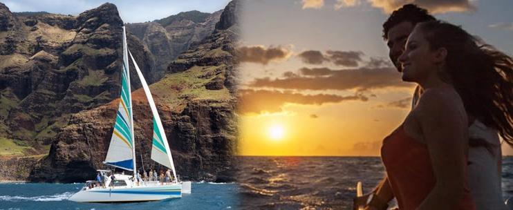 Sightseeing with Holo Holo Na Pali Sunset Sail