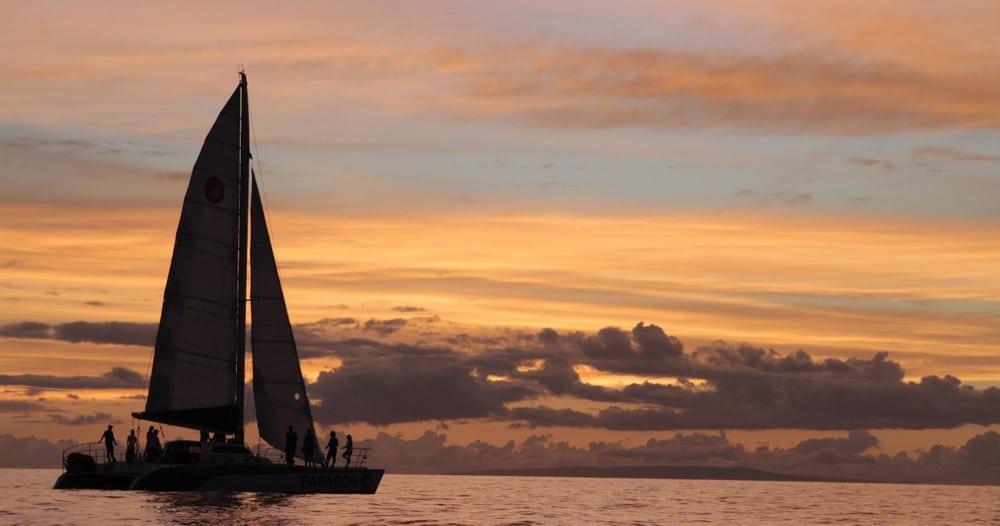 Paragon Performance Sunset Sail with Sail Maui