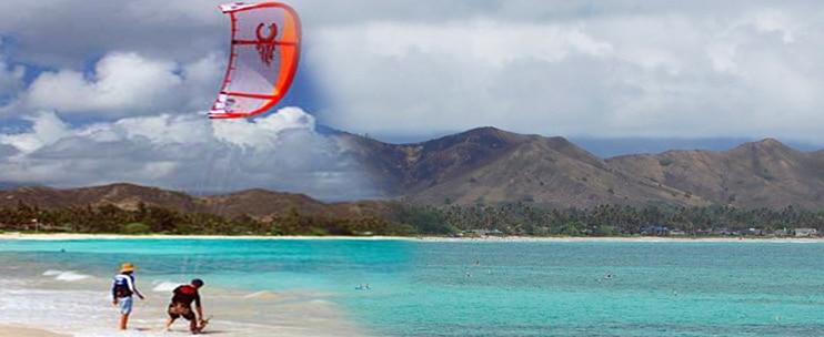 Hawaiian Watersports – Kiteboarding Lesson