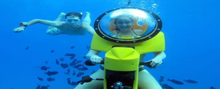 Island Watersports Hawaii – Submersible Scooter Tour