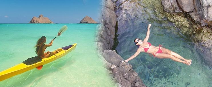 Kailua Beach Adventures – Self-Guided Kayaking Discovery