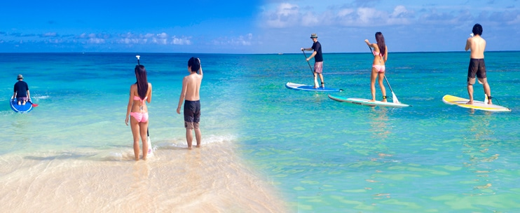 Kailua Beach Adventures – Stand-Up Paddling Guided Tour