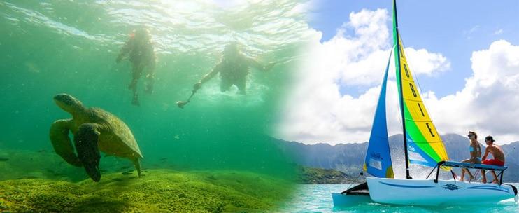 Kama'aina Kayak and Snorkel Eco-Ventures – Hobie Catamaran Sailing Adventure