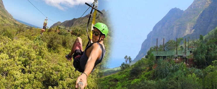Kualoa Ranch – Jurassic Valley Zipline Tour
