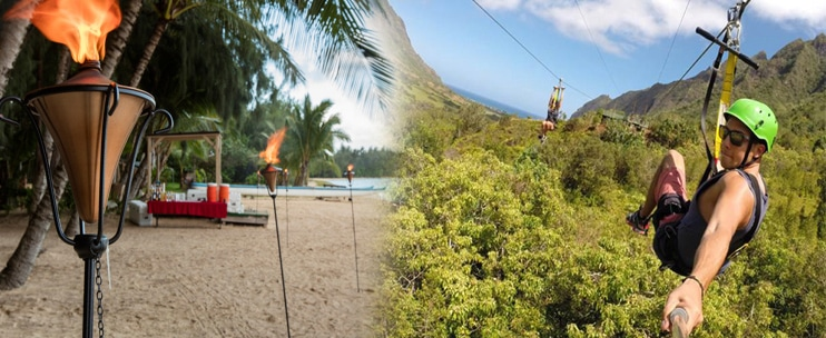 Kualoa Ranch – Zip and Dip