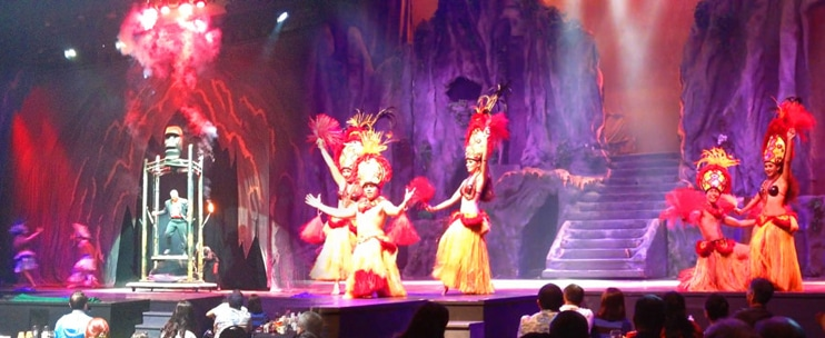 Magic of Polynesia Show Only with Premium Seating