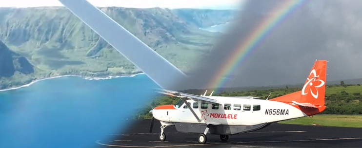 Mokulele Airlines – Molokai Topside Explorer Air and Ground