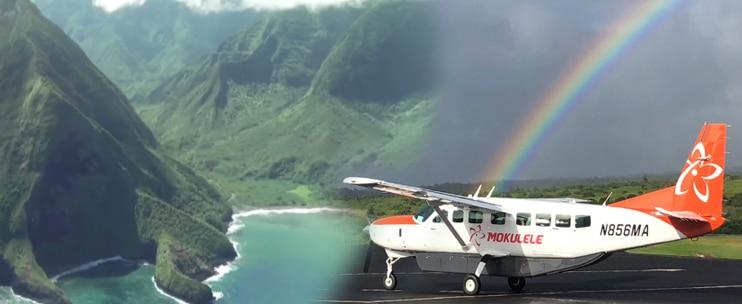 Mokulele Airlines – Splenderous Sea Cliffs of Molokai Air Tour
