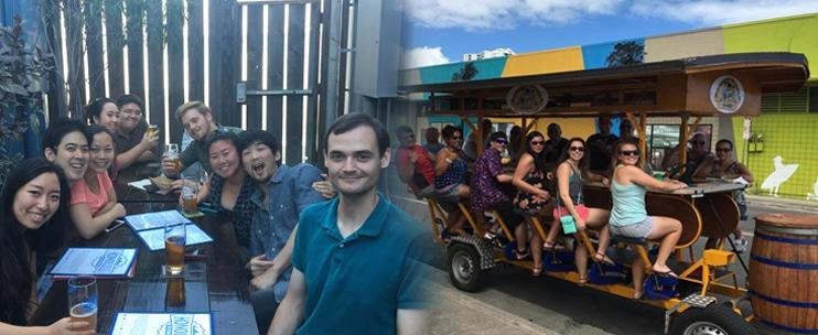 Paradise Pedals – Brew n Bites Art Tour