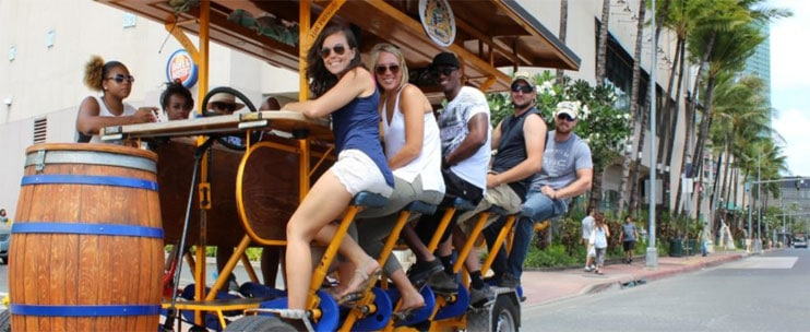 Paradise Pedals – Craft Beer Lover's Tour