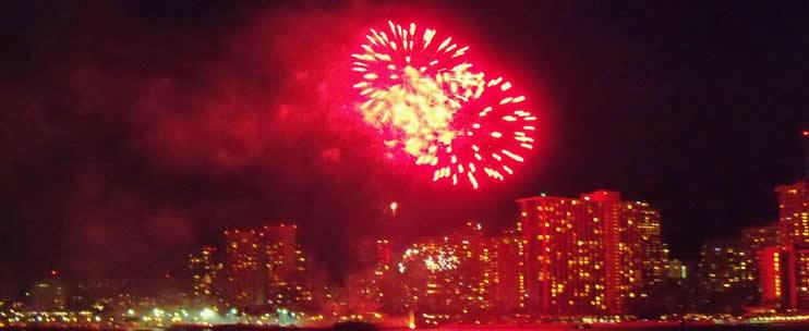 Port Waikiki – Hilton Fireworks Dinner Sail (Hilton Pier – Waikiki)