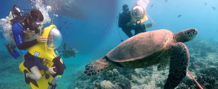 Waikiki Ocean Sports – Underwater Scooter