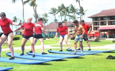 Hawaiian Style Surfing – Kauai's Ultimate Group Surf Lesson