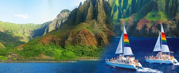 Blue Dolphin Charters – Niihau + Na Pali Coast Snorkel Tour