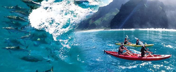 Na Pali Coast Sea Kayak Tour by Outfitters Kauai