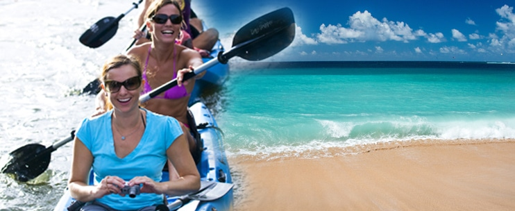 South Shore Sea Kayak Tour by Outfitters Kauai