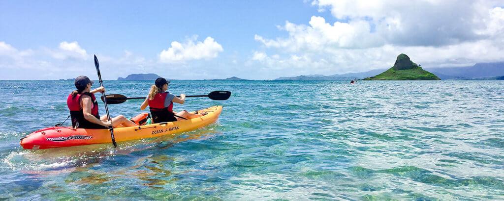 Self-Guided Kayak Adventure by TwoGood Kayaks Hawaii