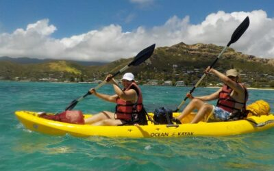 Self-Guided Kayaking Discovery by Kailua Beach Adventures