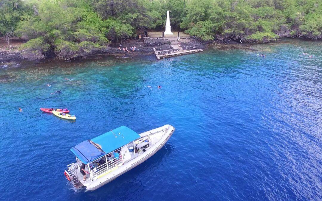 Morning Group Boat Charter – Capt. Cook Snorkeling