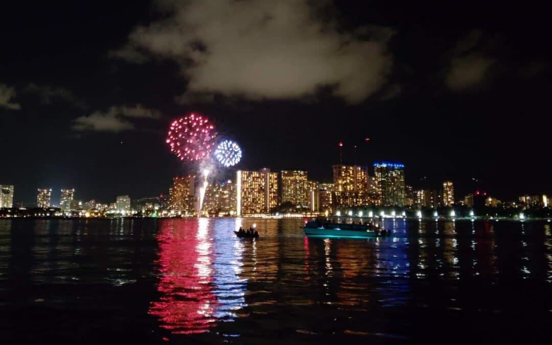 BYOB Fireworks Cruise   Honolulu, Oahu