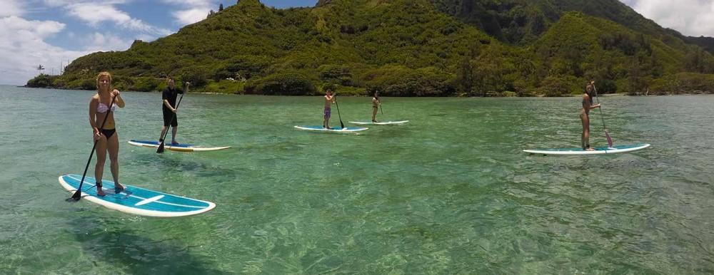 Stand Up Paddle / Kayak – Hau'ula, Oahu